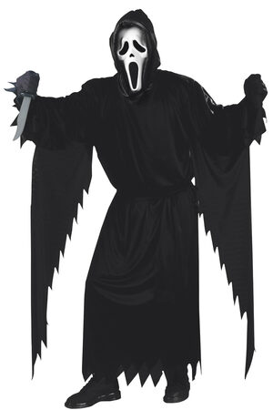Mens Scream Ghost Adult Costume