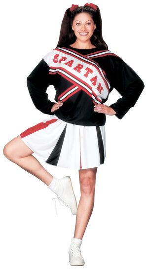Womens Spartan Cheerleader Adult Costume