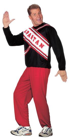 Mens Spartan Cheerleader Adult Costume