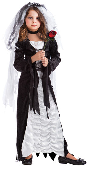 Bride of Darkness Gothic Kids Costume