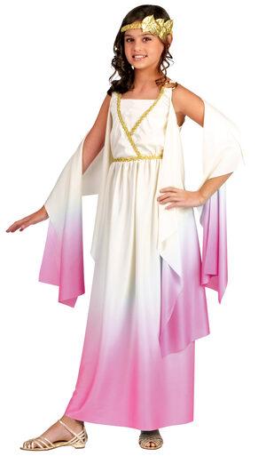 Girls Athena Greek Goddess Kids Costume