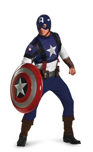 Captain America Superhero Adult Costume