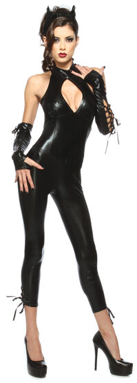 Sexy Black Panther Cat Costume