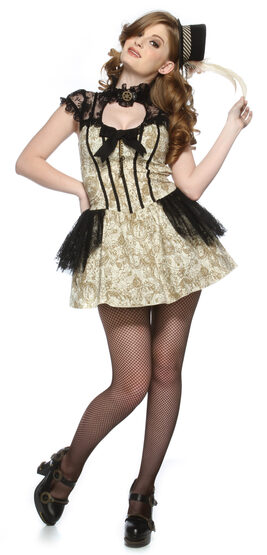 Sexy Steampunk Sweetie Costume