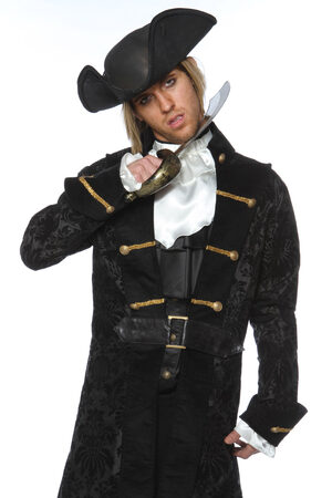 Mens Scurvy Dog Pirate Adult Costume