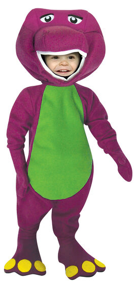 Barney the Dinosaur Kids Costume