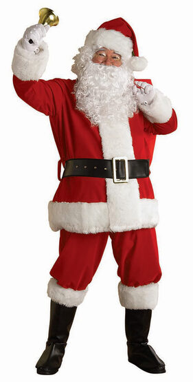 XX Large Regency Plus Santa Suit Adult Costume
