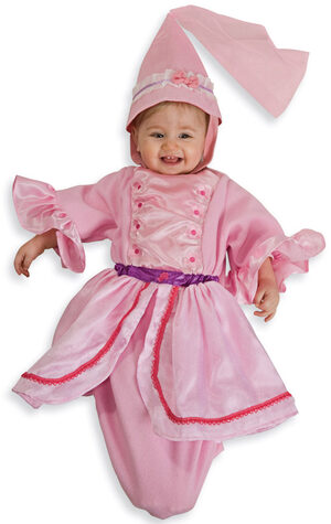 Bunting Pink Princess Baby Costume
