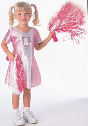 She's So Cute Cheerleader Kids Costume