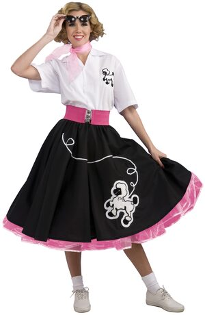 Grand Heritage 50s Poodle Skirt Adult Costume