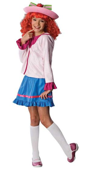 Strawberry Shortcake in Skirt Kids Costume