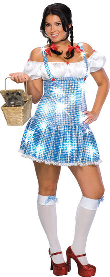Sexy Dorothy Wizard of Oz Plus Size Costume