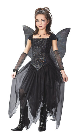 Gothic Fairy Princess Kids Costume