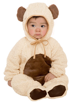 Adorable Oatmeal Bear Baby Costume