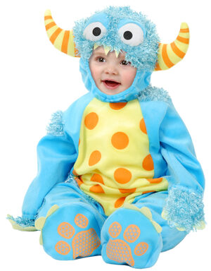 Mini Monster Baby Costume