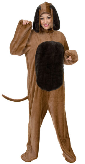Womens Playful Dog Adult Costume