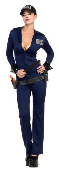 CSI Officer Felony Sexy Cop Costume