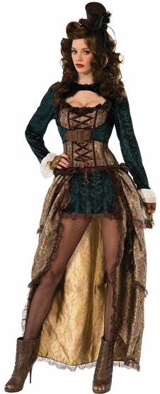 Sassy Madame Steampunk Adult Costume