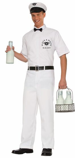 Milkman Adult Costume