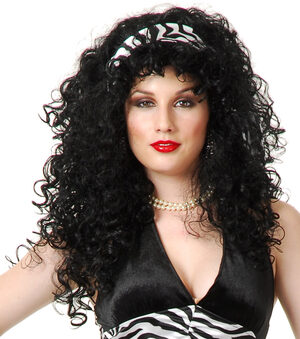 Curly Diva Wig
