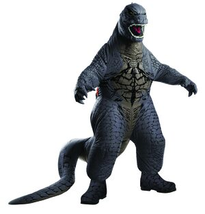 Inflatable Deluxe Godzilla Kids Costume
