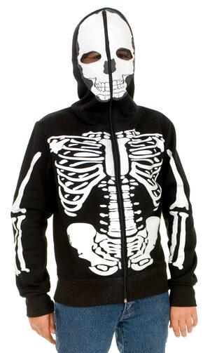 Boys Skeleton Sweatshirt Hoodie