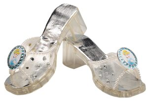 Deluxe Kids Disney Cinderella Jelly Shoes
