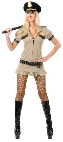 Sexy California Sheriff Cop Costume