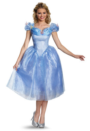 Cinderella Deluxe Adult Costume