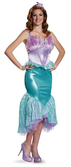 Ariel Deluxe Little Mermaid Adult Costume
