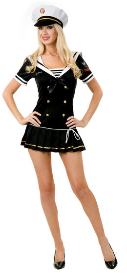 Sexy Navy Brat Sailor Costume