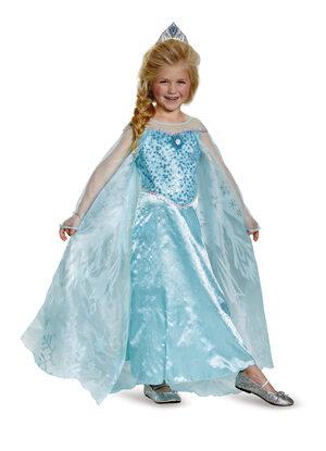 Elsa Prestige Frozen Kids Costume