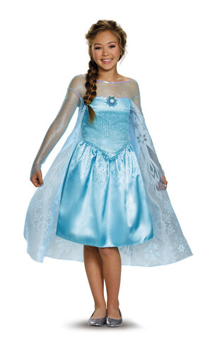 Elsa Frozen Kids Costume