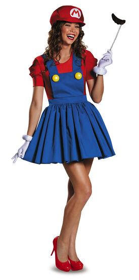 Super Mario Brothers Mario Skirt Adult Costume