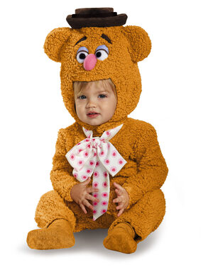 Fozzie Bear Muppet Baby Costume