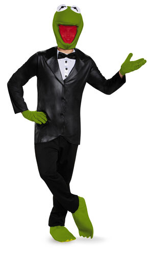 Kermit the Frog Deluxe Adult Costume