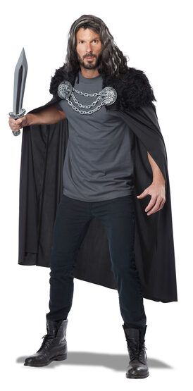Wolf Clan Cape Adult Costume