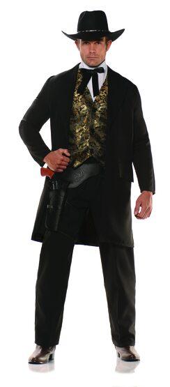 Gambler Western Adult Costume