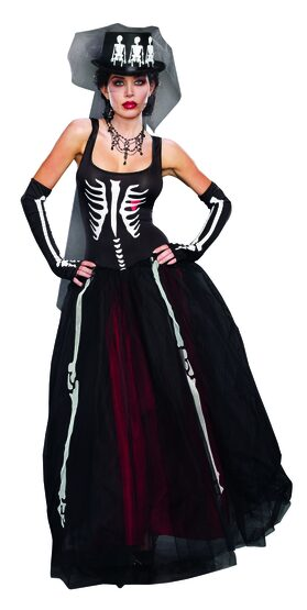 Ms. Bones Skeleton Adult Costume