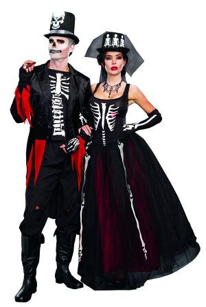 Mr. Bones Skeleton Adult Costume