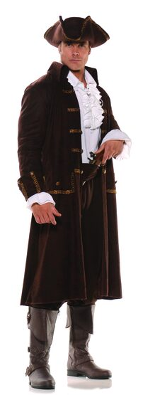 Pirate Captain Barrett Adult Costume