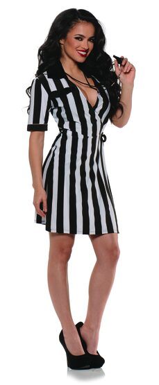 Sexy Referee Dress Costume