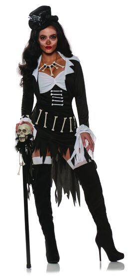 Day of the Dead Voo Doo Adult Costume