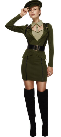 Sexy Fever Army Captain Costume