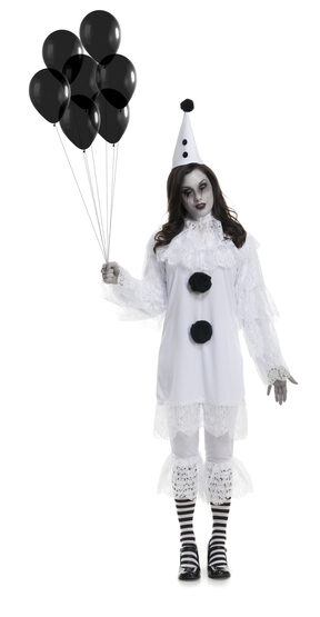 Gothic Heartbroken Clown Adult Costume