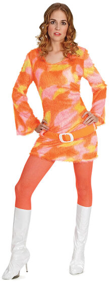 Shag-A-Delic Dancing Queen 70s Adult Costume