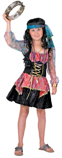 GiGi the Gypsy Kids Costume