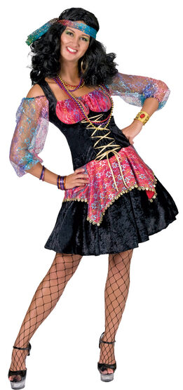 Womens GiGi the Gypsy Adult Costume