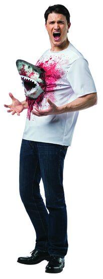 Funny Sharknado T-Shirt Adult Costume