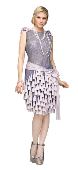 Daisy Buchanan Bluebells 1920s Adult Costume